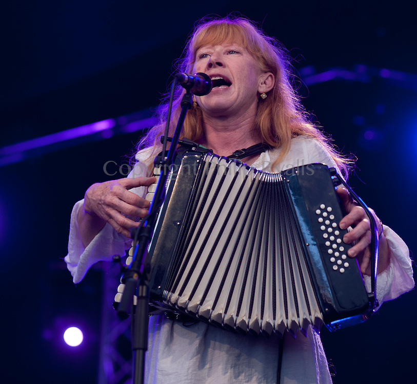 CAMBRIDGE, UK - JULY 29: Loreena McKennitt performs on stage at The Cambridge Folk Festival on July 29th, 2012 in Cambridge, United Kingdom. (Photo by Philip Ryalls/Redferns)**Loreena McKennitt