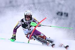 06.01.2015, Sljeme, Zagreb, CRO, FIS Weltcup Ski Alpin, Zagreb, Herren, Slalom, 1. Lauf, im Bild Henrik Kristoffersen (NOR) // Henrik Kristoffersen of Norway in action during 1st run of men's Slalom of FIS Ski Alpine Worldcup at the Sljeme in Zagreb, Croatia on 2015/01/06. EXPA Pictures © 2015, PhotoCredit: EXPA/ Pixsell/ Goran Stanzl<br /> <br /> *****ATTENTION - for AUT, SLO, SUI, SWE, ITA, FRA only*****