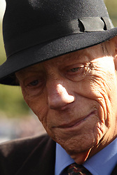 Sir Henry Cecil, 10-time champion trainer, has died at the age of 70.<br /> Responsible for 25 British Classic winners, Cecil was also the leading handler at Royal Ascot with a record 75 successes.<br /> Newmarket 29.09.2012<br /> Sir Henry Cecil.<br /> Photo by: Racingfotos.com / i-Images.