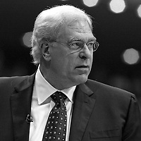 14 june 2009: Phil Jackson, coach of the Los Angeles Lakers, is seen during game 5 of the 2009 NBA finals won 99-86 by the Los Angeles Lakers over the Orlando Magic at Amway Arena, in Orlando, Florida, USA.