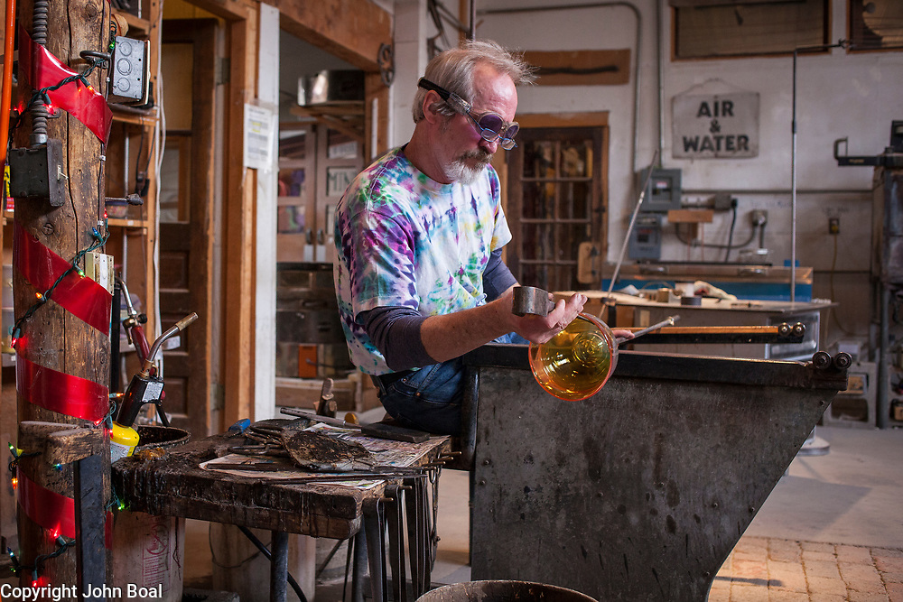 Tesuque Glassworks, Tesuque, New Mexico