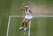 30/06/2011 - Wimbledon (Day 10) - Ladies' Singles Semi-Finals - Maria Sharapova vs. Sabine Lisicki - Maria Sharapova - Photo: Simon Stacpoole / Offside.