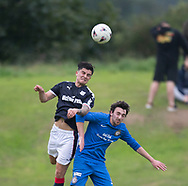 Dundee&rsquo;s Sam Dryden dominates in the air - Lochee United v Dundee 20s, pre-season friendly, at Thomson Park<br /> <br />  - &copy; David Young - www.davidyoungphoto.co.uk - email: davidyoungphoto@gmail.com