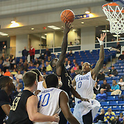 College of Charleston Guard Anthony Stitt (22) drives to the hoop in the second half of a NCAA regular season Colonial Athletic Association conference game between Delaware and The College of Charleston Wednesday, Feb 5, 2014 at The Bob Carpenter Sports Convocation Center in Newark Delaware.