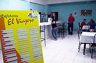 Cafe Viajero in Cueto, Holguin Province, Cuba.