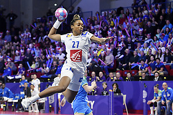 France player Estelle Nze Minko during the Women's european handball chanmpionship preliminary round, Slovenia vs France. Nancy, Fance -02/12/2018//POLEMILE_01POL20181202NAN017/Credit:POL EMILE / SIPA/SIPA/1812021731
