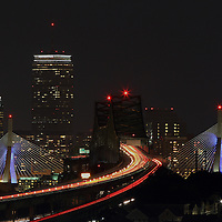 Boston night photography showing historic landmarks such as the Boston Prudential Center, Zakim Bridge and Tobin Bridge cityscape on a beautiful autumn night.<br /> <br /> <br /> This Boston photo image is available as museum quality photography prints, canvas prints, acrylic prints or metal prints. Prints may be framed and matted to the individual liking and decorating needs:<br /> <br /> http://juergen-roth.artistwebsites.com/featured/the-dark-side-of-boston-juergen-roth.html<br /> <br /> Good light and happy photo making!<br /> <br /> My best,<br /> <br /> Juergen<br /> Prints: http://www.rothgalleries.com<br /> Photo Blog: http://whereintheworldisjuergen.blogspot.com<br /> Twitter: @NatureFineArt<br /> Facebook: https://www.facebook.com/naturefineart