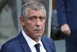 August 31, 2017 - Porto, Portugal - Portugal's head coach Fernando Santos during the 2018 FIFA World Cup qualifying football match between Portugal and Faroe Islands at the Bessa XXI stadium in Porto, Portugal on August 31, 2017. (Credit Image: © Pedro Fiuza/NurPhoto via ZUMA Press)
