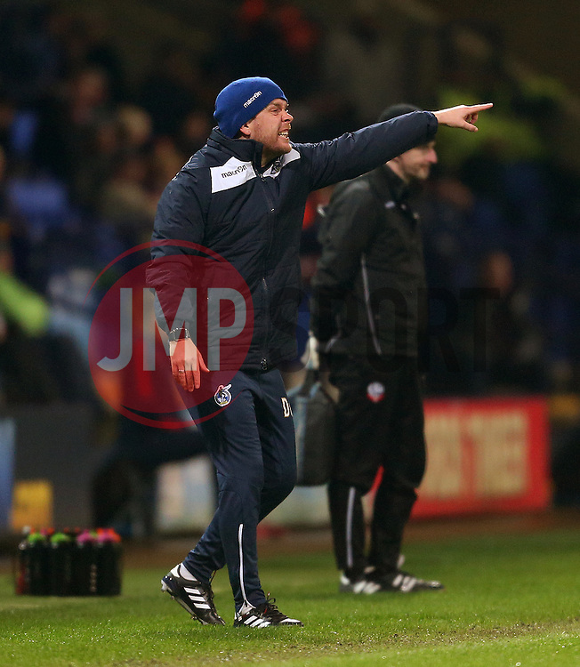 Bristol Rovers manager Darrell Clarke shouts instructions to his players - Mandatory by-line: Matt McNulty/JMP - 28/02/2017 - FOOTBALL - Macron Stadium - Bolton, England - Bolton Wanderers v Bristol Rovers - Sky Bet League One