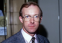 John Home-Robertson, MP, labour Party, East Lothian, Scotland, UK, 19860933JHR<br />