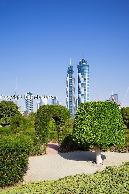 Al Safa Park in Dubai United Arab Emirates