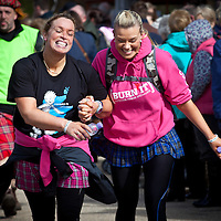 A sample of images from the Glasgow Kiltwalk 2013 where walkers cover the 26 miles from Hampden Park to Loch Lomond.<br /> 21st April 2013<br /> <br /> All images copyright Shaun Ward Photography