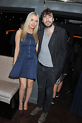 LAURA WHITMORE and DANNY O'REILLY at the launch party for Barberella, 428 Fulham Road, London SW6 on 17th October 2012.