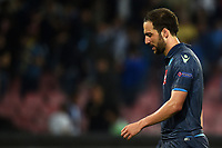 Delusione Gonzalo Higuain Napoli Dejection <br /> Napoli 07-05-2015 Stadio San Paolo, Football Calcio Europa League 2014/2015 Semi Final Napoli Dnipro Foto Andrea Staccioli / Insidefoto