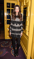 Sarah Ann Macklin at the Annabel's Bright Young Things Party held at Annabel's, 44 Berkeley Square, London England. 16 February 2017.