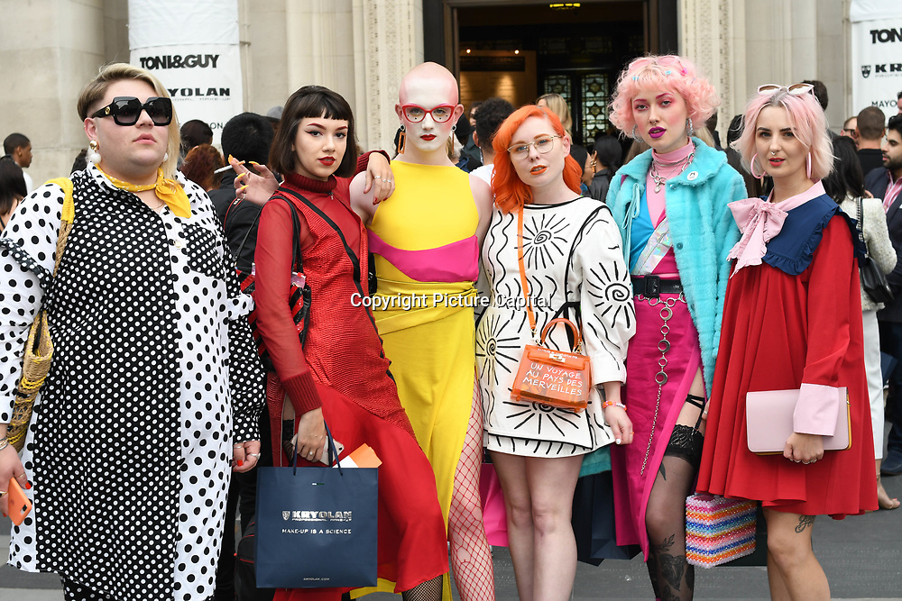 Jamie Windust attend Fashion Scout - SS19 - London Fashion Week - Day 2, London, UK. 15 September 2018.