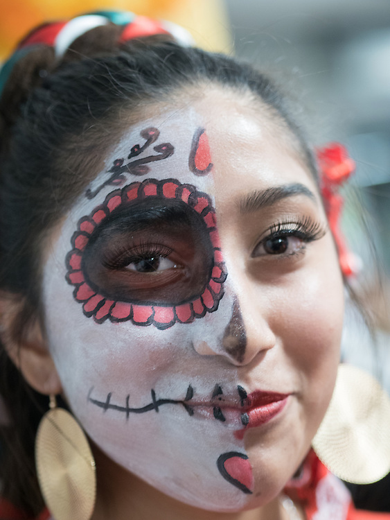 United States, Washington, Seattle, Dias de los Muertos (Day of the Dead) festival