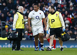 February 10, 2019 - London, England, United Kingdom - Mako Vunipola of England during the Guiness 6 Nations Rugby match between England and France at Twickenham  Stadium on February 10th, 2019 in Twickenham, London,  England. (Credit Image: © Action Foto Sport/NurPhoto via ZUMA Press)