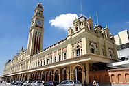 Museu da Língua Portuguesa e Estação da Luz em São Paulo. Foto:Daniel Guimarães/Ritratto