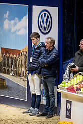Ripke Andreas (Trainer), Ripke Flemming (GER)<br /> Finale Youngster Tour<br /> Braunschweig - Löwenclassics 2019<br /> © Hippo Foto - Stefan Lafrentz
