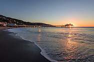 Malibu Surfrider Beach, Pier, California