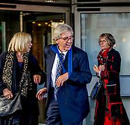 AMSTERDAM - Bram Peper Herdenkingsbijeenkomst in het Concertgebouw voor de overleden oud-premier Wim Kok.