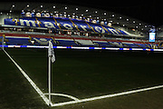 Empty stadium before the floodlights come on before the Sky Bet Championship match between Bolton Wanderers and Ipswich Town at the Macron Stadium, Bolton, England on 8 March 2016. Photo by Simon Brady.