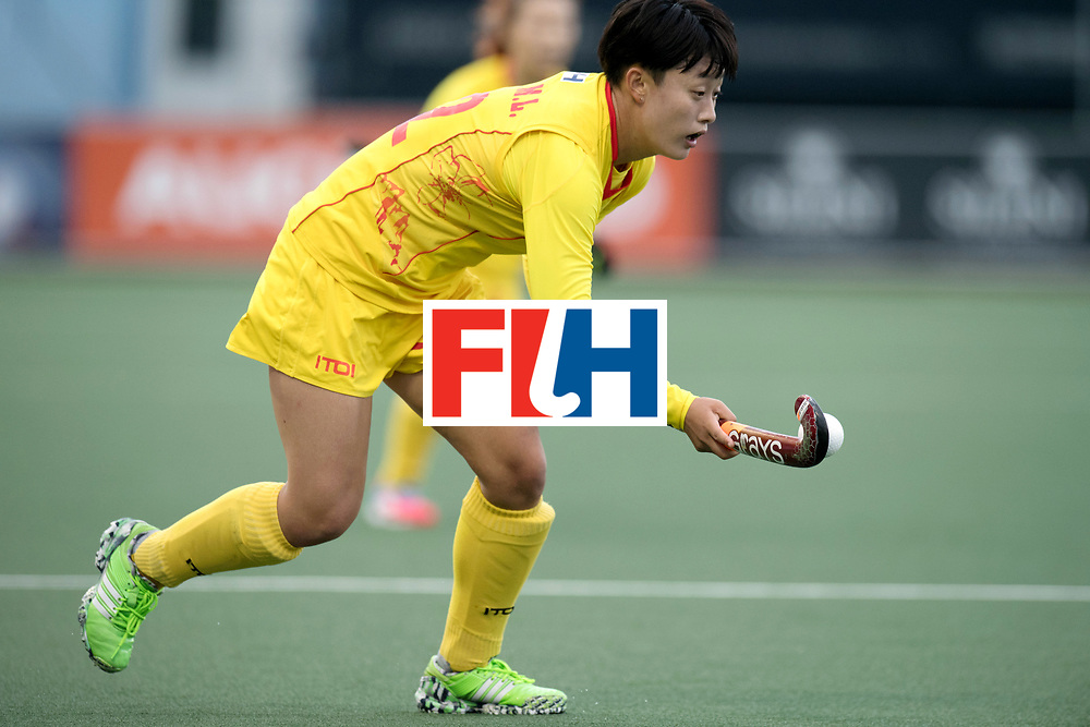 AUCKLAND - Sentinel Hockey World League final women<br /> Match id: 10309<br /> 19 USA v CHN (Losing Q/Finalists Match)<br /> Foto: Mengling Zhong <br /> WORLDSPORTPICS COPYRIGHT FRANK UIJLENBROEK