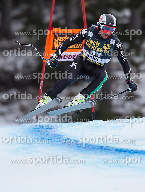 19.12.2013, Saslong, Groeden, ITA, FIS Ski Weltcup, Groeden, Abfahrt, Herren, 2. Traininglauf, im Bild Silvano Varettoni (ITA) // Silvano Varettoni of Italy in action during mens 2nd downhill practice of the Groeden FIS Ski Alpine World Cup at the Saslong Course in Gardena, Italy on 2012/12/19. EXPA Pictures © 2013, PhotoCredit: EXPA/ Johann Groder