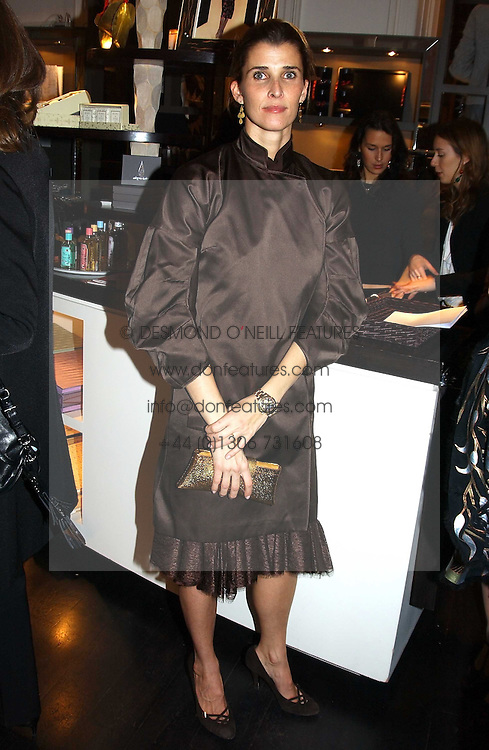 PRINCESS ROSSARIO OF BULGARIA at a jewellery party hosted by Osanna Visconti and Pia Marocco at Allegra Hick's shop, 28 Cadogan Place, London on 25th November 2004.<br /><br />NON EXCLUSIVE - WORLD RIGHTS