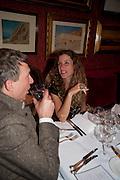 JEFFERSON HACK; ELIANE FATTAL, Dinner hosted by Elizabeth Saltzman for Mario Testino and Kate Moss. Mark's Club. London. 5 June 2010. -DO NOT ARCHIVE-© Copyright Photograph by Dafydd Jones. 248 Clapham Rd. London SW9 0PZ. Tel 0207 820 0771. www.dafjones.com.