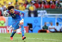 Torwart Guillermo Ochoa (Mexiko)<br /> Fussball, FIFA WM 2014 in Brasilien, Vorrunde, <br /> Brasil - Mexico<br /> <br /> Norway only