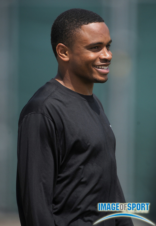 May 26, 2010; Alameda, CA, USA; Oakland Raiders cornerback Nnamdi Asomugha (21) at organized team activities at the Oakland Raiders practice facility.