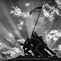 US Marine Corps War Memorial. CREDIT: J. David Ake
