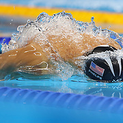 Swimming - Olympics: Day 7  Michael Phelps of the United States in action during his silver medal swim in the Men's 100m Butterfly Final during the swimming competition at the Olympic Aquatics Stadium August 12, 2016 in Rio de Janeiro, Brazil. (Photo by Tim Clayton/Corbis via Getty Images)