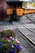 D&SRR depot, Durango, CO.