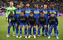 Cape Town-181002- Cape Town City starting eleven against Bidvest Wits in a PSL clash at Cape Town Stadium.Cape town City come to this game with high confidence after winning the MTN 8 cup over the weekend,while Wits will be fighting for the the top spot they have lost after some poor display in their last two games.Photographs:Phando Jikelo/African News Agency/ANA
