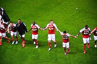 Joie Reims - 16.05.2015 - Reims / Rennes - 37eme journee de Ligue 1<br />Photo : Dave Winter / Icon Sport