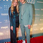 NLD/Amsterdam/20200211 - Uitreiking Edison Pop 2020, Snelle en partner Sterre Kunzler
