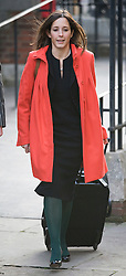© London News Pictures.  23/11/2011. London, UK.  Lawyer, Carine Patry Hoskins who is trending on twitter as  #thewomanontheleft  arriving at The Royal Courts of Justice yesterday (23/11/2011) for the Leveson Inquiry into press standards. The inquiry is being lead by Lord Justice Leveson and is looking into the culture, and practice of the UK press. Photo credit : Ben Cawthra/LNP