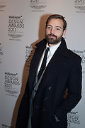 PATRICK GRANT, Wallpaper  Design Awards in partner ship with aSton Martin. The Edison, 223-231 Old Marylebone Road, London. 12 January 2011. . This year it is in partnership with Aston Martin.-DO NOT ARCHIVE-© Copyright Photograph by Dafydd Jones. 248 Clapham Rd. London SW9 0PZ. Tel 0207 820 0771. www.dafjones.com.
