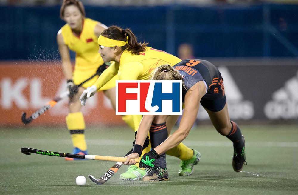 AUCKLAND - Sentinel Hockey World League final women<br /> Match id: 10305<br /> 16 NED v CHina (QF)<br /> Foto: Laurien Leurink <br /> WORLDSPORTPICS COPYRIGHT FRANK UIJLENBROEK
