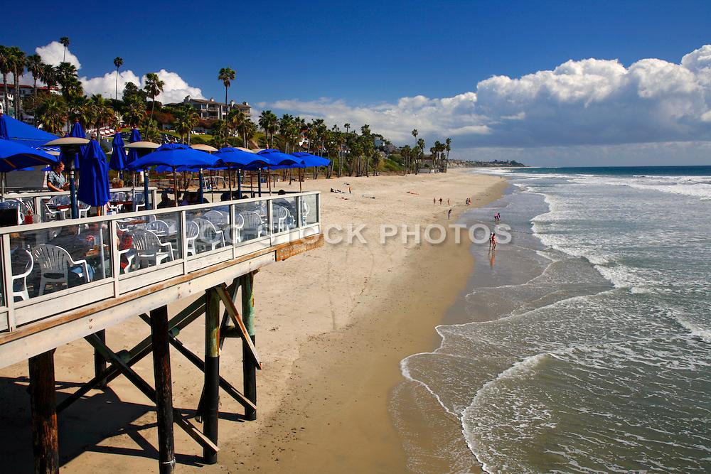 Fisherman's Restaurant On The Pier In San Clemente California