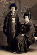 Photo by Nojima Yasuzo<br /> Mikasa Shashin Ten<br /> <br /> Two young beauties, possibly sisters, late 1910s.<br /> Gelatin silver print in studio mat, cover missing.<br /> Print size: 3 in. x 4 1/2 in. (75 mm x 115 mm).<br /> Studio Mat size: 5 3/8 in. x 8 1/2 in. (135 mm x 217 mm).<br /> <br /> Offered as part of a collection of images by Nojima's Tokyo studios.<br /> <br /> <br /> <br /> <br /> <br /> <br /> <br /> <br /> <br /> <br /> <br /> <br /> <br /> <br /> <br /> <br /> <br /> <br /> <br /> <br /> <br /> <br /> <br /> <br /> <br /> <br /> <br /> <br /> <br /> <br /> <br /> <br /> <br /> <br /> <br /> <br /> <br /> <br /> <br /> <br /> <br /> <br /> <br /> <br /> <br /> <br /> <br /> <br /> <br /> <br /> <br /> <br /> <br /> <br /> <br /> <br /> <br /> <br /> <br /> <br /> <br /> <br /> <br /> <br /> <br /> <br /> <br /> <br /> <br /> <br /> <br /> <br /> <br /> <br /> <br /> <br /> <br /> <br /> <br /> <br /> <br /> <br /> .