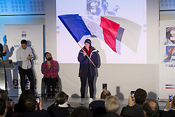 100 days until 2018 Pyeongchang Paralympic Games - Presentation of France Paralympique team and the flagbearer.