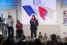 December 5th 2017 - Presentation de Porte Drapeau De L'Equipe De France