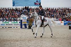 FUKUSHIMA Daisuke (JPN), Cornet<br /> Hagen - Horses and Dreams meets the Royal Kingdom of Jordan 2018<br /> Preis der LVM Versicherung Qualifikation zur DKB-Riders Tour<br /> 28. April 2018<br /> www.sportfotos-lafrentz.de/Stefan Lafrentz