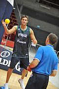 Danzica - Polonia 03 Agosto 2012 - Nazionale Italia Maschile Allenamento - <br /> Nella Foto : DANILO GALLINARI<br /> Foto Ciamillo