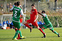 *Karim Haggui* of FC St Gallen, *Thomas Ouwejan* of AZ Alkmaar scores the first goal to make it 1-0, *Nzuzi Toko* of FC St Gallen,