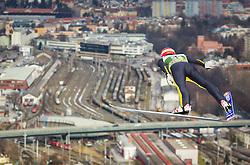 03.01.2013, Bergisel Schanze, Innsbruck, AUT, FIS Ski Sprung Weltcup, 61. Vierschanzentournee, Training, im Bild Andreas Wellinger (GER) // Andreas Wellinger of Germany during practice Jump of 61th Four Hills Tournament of FIS Ski Jumping World Cup at the Bergisel Schanze, Innsbruck, Austria on 2013/01/03. EXPA Pictures © 2012, PhotoCredit: EXPA/ Juergen Feichter